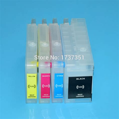reset hp designjet t520 hp711 printer ink cartridge with auto reset chip for hp