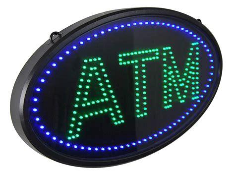 Sign Led Atm led atm sign automatic teller machine sign