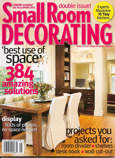 Magazine Room Decor | small room decorating magazine photograph small room decor