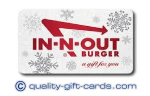 In N Out Gift Cards - 25 in n out burger gift card 22 50 quality gift cards
