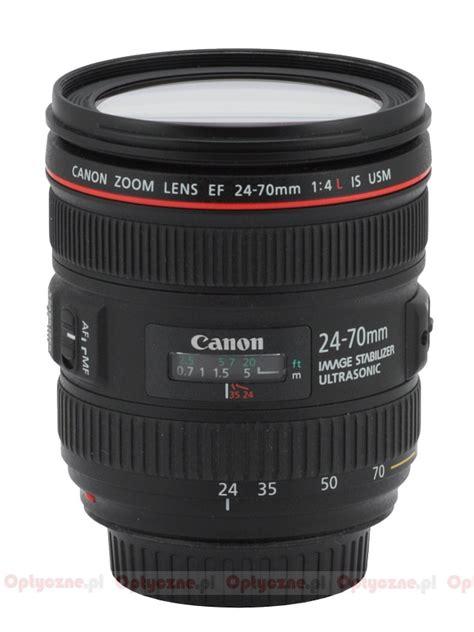 Canon Ef 24 70mm 24 70 Mm F28l Ii Usm Like New In Box Second canon ef 24 70 mm f 4l is usm review introduction lenstip