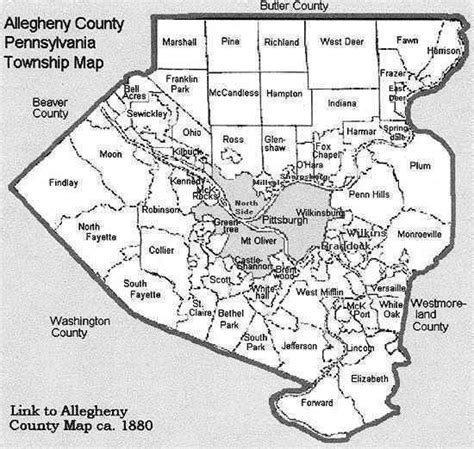Search Allegheny County Pa Allegheny County Map