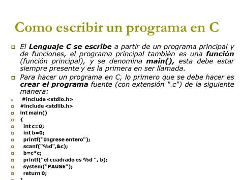 funciones de cadenas en lenguaje c programaci 243 n en el lenguaje c ppt monografias
