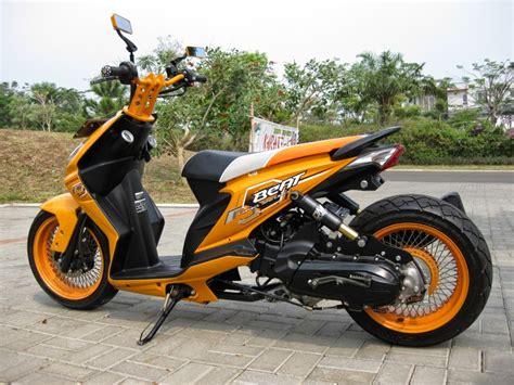Honda Beat Metic koleksi alat modifikasi motor matic terbaru modifikasi