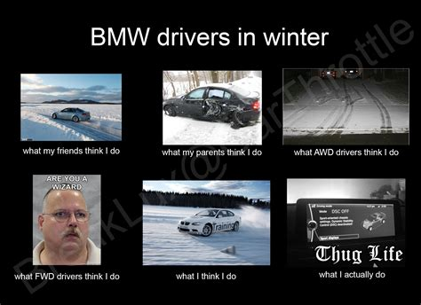 bmw or rwd drivers