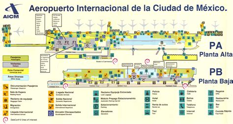 airport map mexico map airports