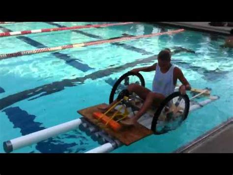 tarzan boat tennessee pvc pipe paddle boat duct tape boat race youtube