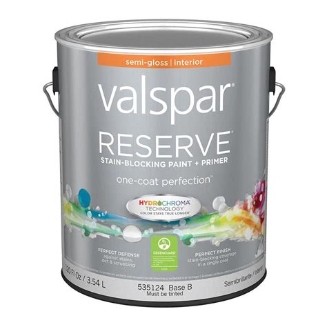 valspar paint shop valspar reserve semi gloss latex interior paint and