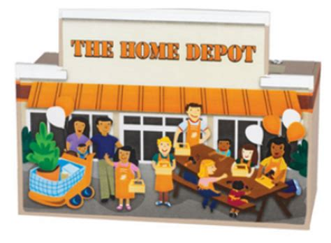 home depot free workshop give and save bank