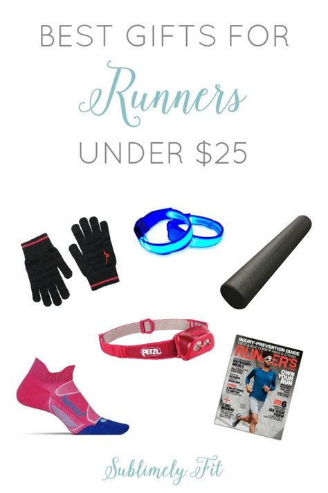gifts for 25 best gifts for runners under 25 sublimely fit