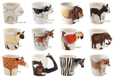 animal mug fcinterior rakuten global market animal meelarp ceramic