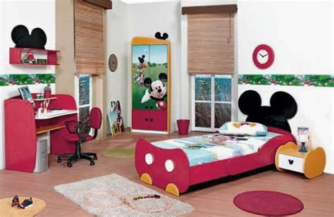mickey mouse bedroom decor home design remodeling ideas mickey mouse kids bedroom design with wooden floors