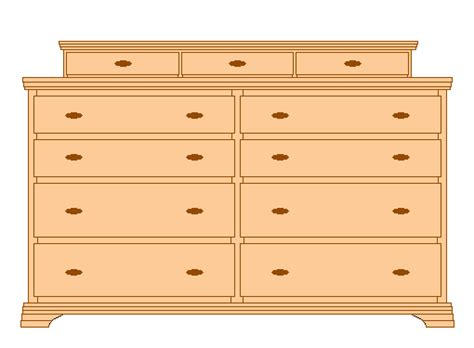 Bedroom Furniture Wood Plans Woodworking Plans For 9 Drawer Dresser Trimuni