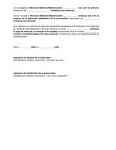 sle cover letter exemple de lettre de procuration pour