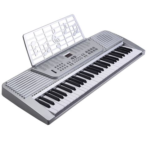 Keyboard Organ Tunggal Techno new 61 key digital electronic keyboard electric piano organ white ebay