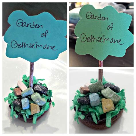 garden of gethsemane craft garden of gethsemane cupcakes we will be using this as a