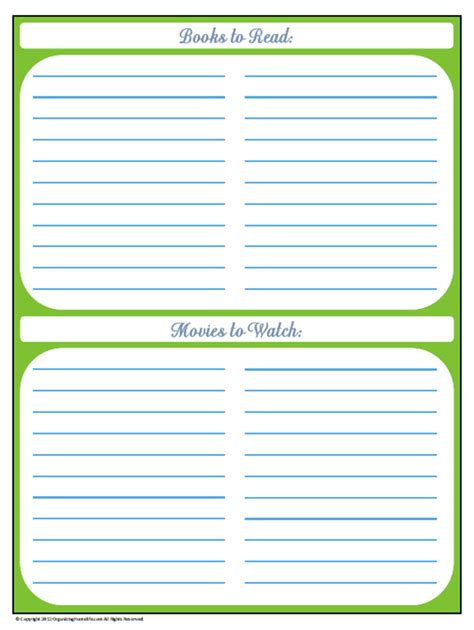 printable organization binder 31 days of home management binder printables day 18