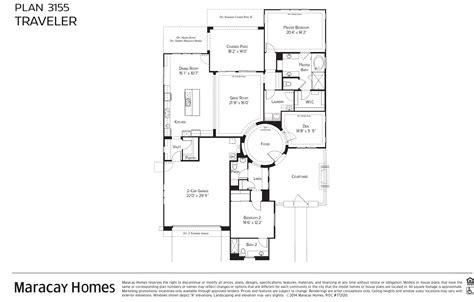 Carefree Homes Floor Plans maracay homes traveler floor plan victory at verrado
