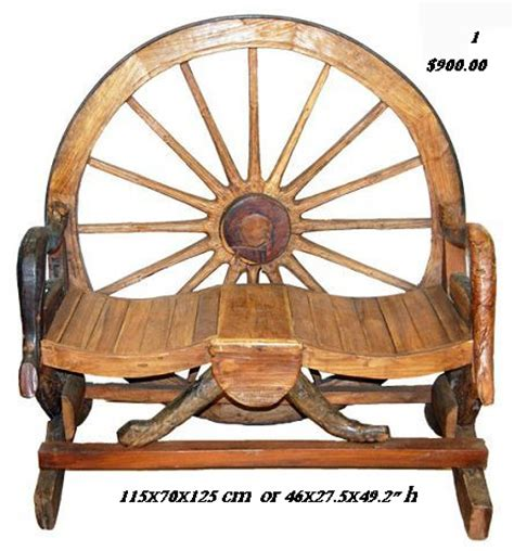 rustic wagon wheel bench wagon wheel benches