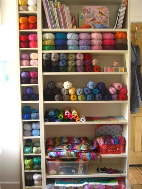 Yarn Shelf by Stash Yarn Organization Ideas Stitch And Unwind