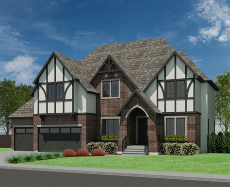 tudor home plans tudor 3499 robinson plans