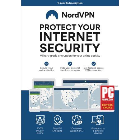 nordvpn internet privacy software  month subscription  devices email delivery walmartcom
