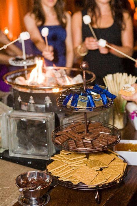 smores at wedding reception smores bar ideas wedding ideas