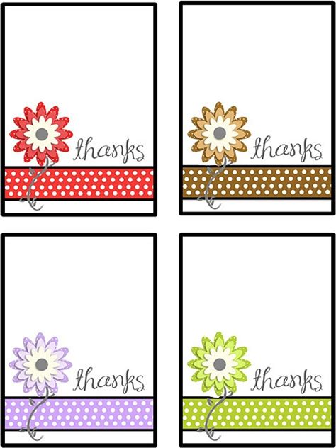 printable thank you notes uk printable thank you notes i love printables pinterest