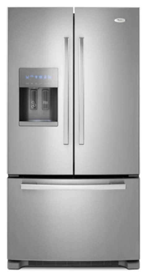 whirlpool 29 cu ft door refrigerator whirlpool 5gi6faraf 29 cu ft door stainless steel