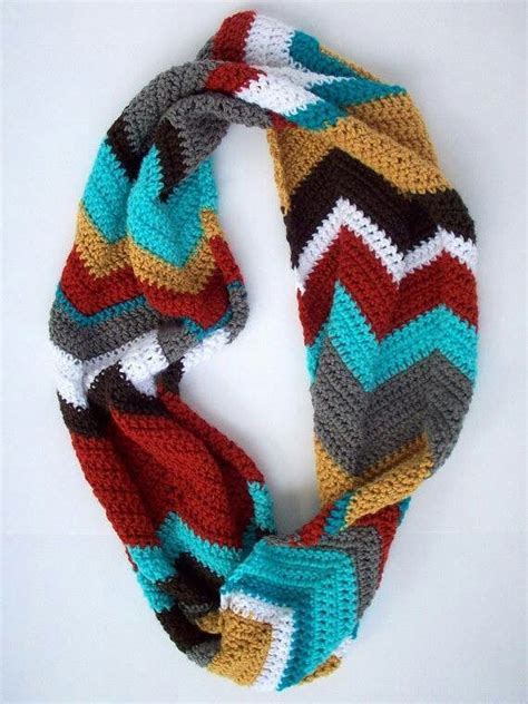 chevron infinity scarf knitting pattern 25 best ideas about chevron infinity scarves on