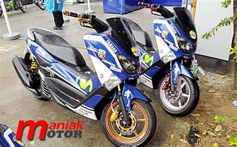 Kaliper Depan Rcb Nmax keren dan lorenzo pakai yamaha nmax sudah aksesori racing boy rcb portal sepeda