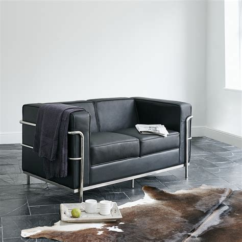 le corbusier leather sofa le corbusier leather sofa le corbusier black leather sofa