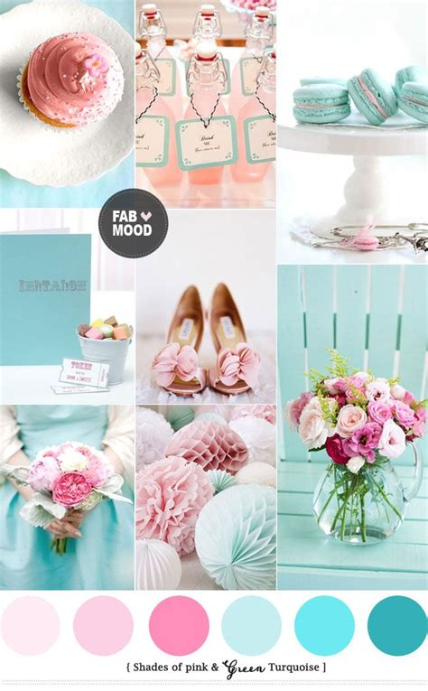wedding colour themes pink turquoise pink wedding colors pink wedding theme