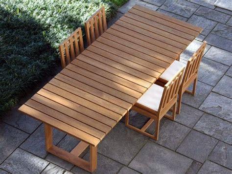come costruire un tavolo da giardino tavoli da giardino tanti modelli recensiti in legno
