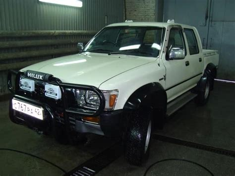 Toyota Hilux 1989 Model 1989 Toyota Hilux Up Images