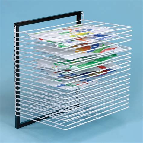 Painting Drying Rack by A2 Wall Mounted Drying Rack From Early Years Resources Uk