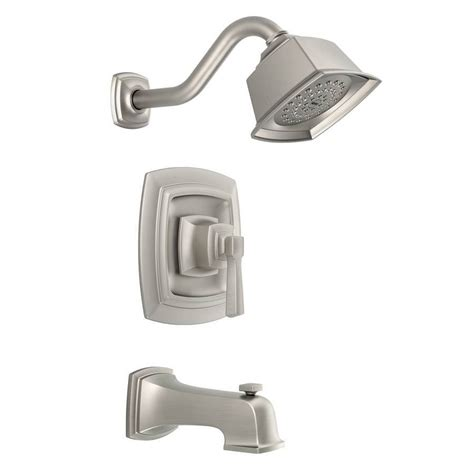 shower bathtub faucets moen boardwalk single handle tub shower faucet w single