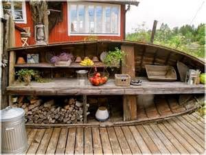 10 ingenious ideas to repurpose boats