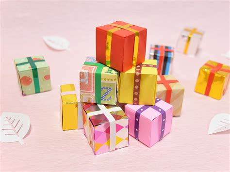Origami Club Box - origami club present box index comot