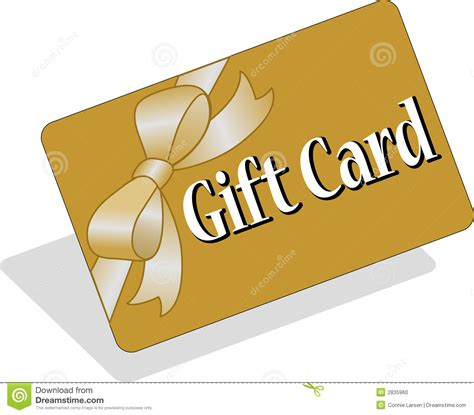 Stock Gift Card - gift card eps stock photo image 2835960