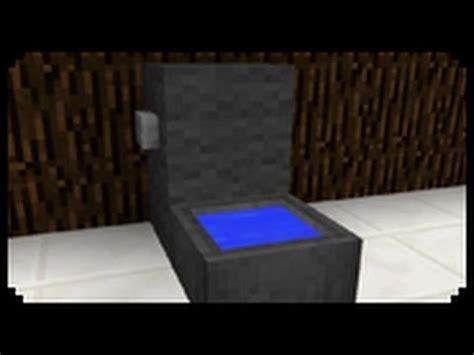 minecraft how to make bathroom minecraft how to make a toilet youtube