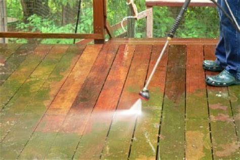 time  year  pressure washing  deck  paint