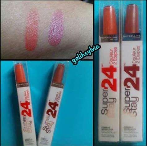 Lipstik Maybelline Tahan Lama galihsylvia review maybelline superstay 24h lipcolor