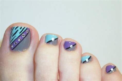 easy nail art toes simple nail art designs for beautiful feet nailkart com