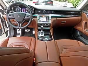 Maserati Quattroporte Interior 2015 Maserati Quattroporte Interior
