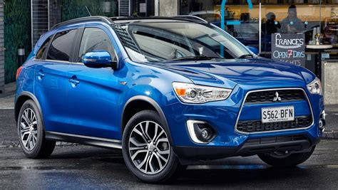 asx mitsubishi 2015 2015 mitsubishi asx gets refreshed down under
