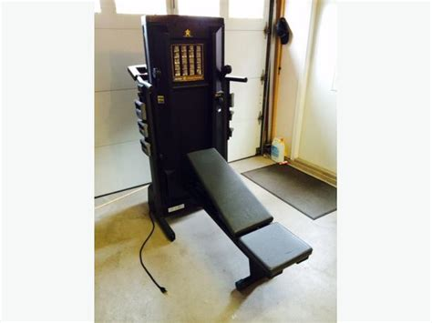 pro form weight bench proform cross trainer treadmill north saanich sidney