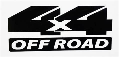 4x4 Road Stickers