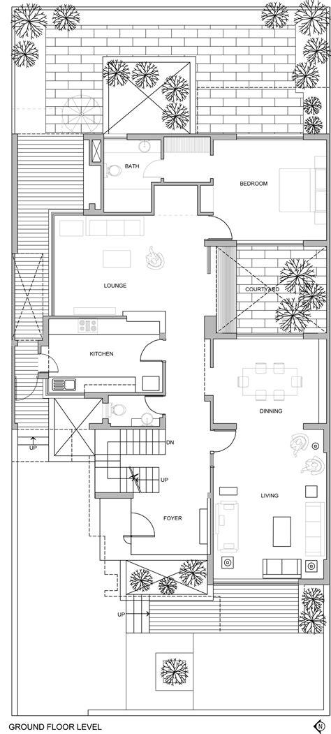 partners in building floor plans gallery of the overhang house dada partners 30