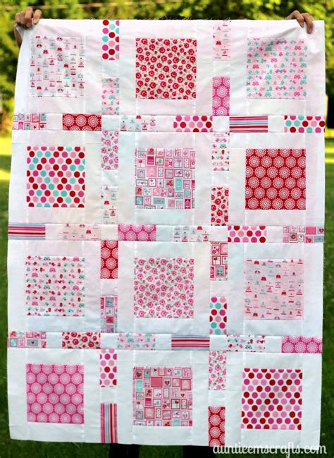 How To Make A Baby Comforter by Oh Boy Baby Quilt Auntie Em S Crafts